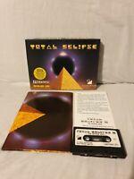 Total Eclipse - Amstrad cpc cassette Rare