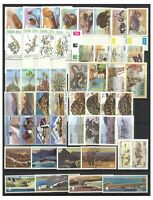 South West Africa SWA 50 Different Stamps All Mint Unhinged in Complete Sets MUH
