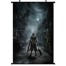 Bloodborne Action Cosplay Game Silk Wall Scroll Poster 24x36 inch 003