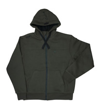 Fox Green Black Heavy Lined Hoodie - All Sizes XXXL XL