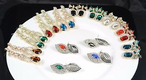New Style Diamante different designs Earrings