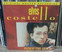 LP ELVIS COSTELLO - PUNCH THE CLOCK - NUMBERED - MFSL - NUOVO NEW