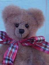 "World of Miniature Bears 5"" Plush Bear Larry Collectible Miniature Bear"