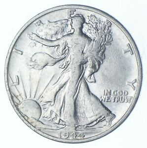 1944-D Walking Liberty 90% Silver US Half Dollar *825