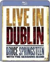"BRUCE SPRINGSTEEN ""LIVE IN DUBLIN"" BLU RAY NEW+"