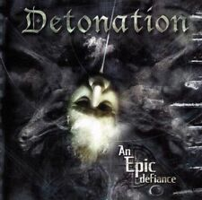 Detonation - An Epic Defiance CD 2003 death metal thrash Osmose Productions