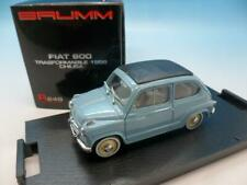 BRUMM FIAT 600 TRASFORMABILE 1956 CHIUSA R249 1/43