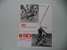 advertising Pubblicità 1975 SIDI e ANDRE' MALHERBE/FELICE AGOSTINI