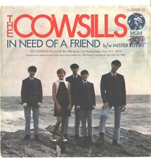 COWSILLS--PICTURE SLEEVE + 45--(IN NEED OF A FRIEND)---PS--PIC---SLV