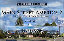 "TrainJunkies O Scale ""Main Street America 2"" 24x144"" Brand New C-10"