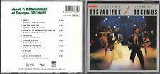 CD 8T JACOB F. DESVARIEUX & GEORGES DECIMUS DE 1999 Sonodisc – CDS7383 FRANCE