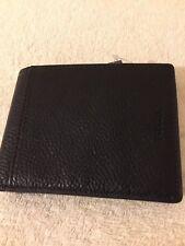FOSSIL Black Wallet- Tyler Int Leather Wallet - BNWT