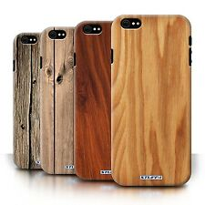 STUFF4 Phone Case/Back Cover for Apple iPhone 6 /Wood Grain Effect/Pattern