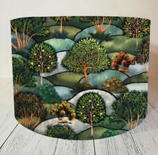 Handmade Lampshade Trees Landscape Country Side Eden Noir Lamp Shade Ceiling New
