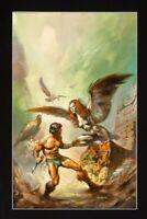 Boris Vallejo Painting (1977) art Maker of Universes book cover ronja Peru harpy