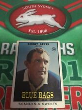 1968 Scanlens Rugby League Series 2 Card No 30 Bobby Keyes Newtown