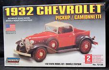 Lindberg Model Kit #72139 ~ 1932 Chevrolet Pickup / Camionnette NIB Sealed