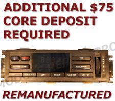 REMAN 1995 Lincoln Town Car A/C Heater Climate Temperature Control EATC EXCHANGE