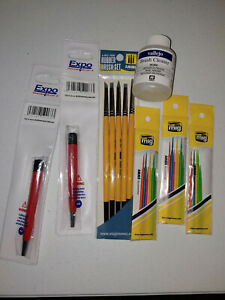 MIG Ammo Miniature Paint Brush Lot