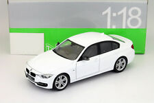 BMW 3 Series (F30) 335i Year 2012 White 1:18 Welly