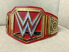 WWE Universal Championship Commemorative Title Belt Red WWF Brock Lesner