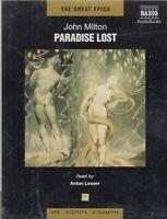 John Milton Paradise Lost 3 Cassette Audio Book Abridged Anton Lesser FASTPOST