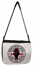 NORTHERN SOUL KEEP THE FAITH UNION JACK MESSENGER BAG - Wigan Casino Motown