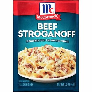 McCormick Beef Stroganoff Seasoning Mix 1.5 oz