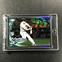 MIKE GIANCARLO STANTON 2010 TOPPS CHROME UPDATE #CHR20 REFRACTOR ROOKIE RC