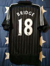 SIZE M CHELSEA 2006-2007 THIRD FOOTBALL SHIRT JERSEY BRIDGE #18
