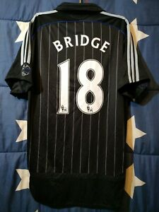 SIZE M CHELSEA 2006-2007 THIRD FOOTBALL SHIRT JERSEY BRIDGE #18