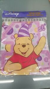 Disney Winnie the Pooh 1st Birthday Celebration Banner 18372 pink