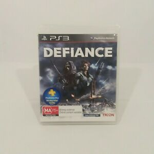 Defiance PS3 Playstation Game NO MANUAL Trion Bargain
