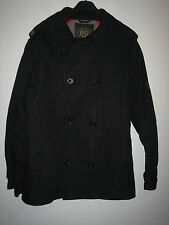 A LOVELY MENS BLACK FLY 53 COAT SIZE MEDIUM /  PIT-PIT APPROX 22 INCHES