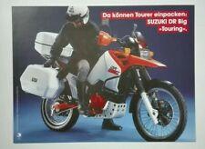 Prospectus Catalogue Brochure Moto Suzuki DR 750 Big Touring 1988 Deutsche