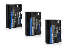 3x LP-E6 Battery Pack for Canon EOS 5D Mark 2 3 4 60D 60Da 6D 70D 7D 80D 5DS R