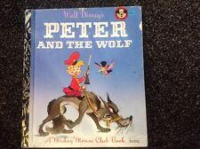 Walt Disney's Peter and the Wolf Vintage 1973 Little Golden Book Sydney edition