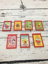 Story Reader Books Disney Barney Learning Toy System Cartridges Only With Binder