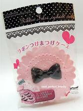 Daiso Jp Cute Bow Fairy Ribbon False Eyelash Case Container Muti Level Pnk 1 Box