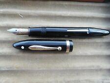 Sheaffer Oversize Black Pen White Dot near mint