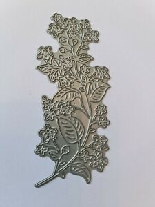 Beautiful Leaf and Flower Panel Die Cutter  Lightly Used