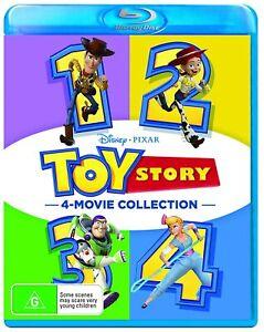 TOY STORY 1 2 3 4 Blu-ray 4 Movie Collection (Region Free)  TOM HANKS TIM ALLEN