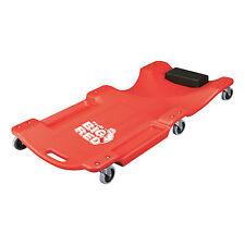BIG RED AUTO Creeper-MECCANICA ROLLING Ispezione Garage strumenti ROLLER 6 RUOTE