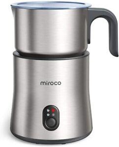 Miroco 500ml Entnehmbarer Automatischer Edelstahl Milchschäumer 4 in 1