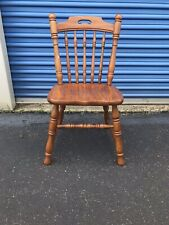Tell City Chair Co. Tanbark solid Oak dining side chairs 1 up to 4 Pattern 1405