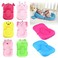 Baby Bath Tub Pillow Pad Air Cushion Floating Soft Seat Newborn Infant Bbm028906 Bathing Accessories