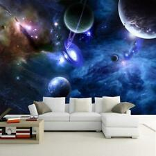 Home Room Wallpaper Kids Bedroom Outer Space Theme Unique Wall Sticker Accessory