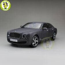 1/18 Kyosho Bentley Mulsanne Speed Diecast Metal car Model Toy Gift Matte Black