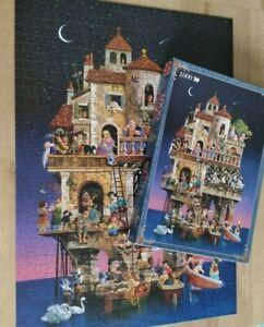 Jumbo The Art of James Christensen Superstitions 1000 Piece Jigsaw Complete