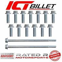 ICT Billet GM LS Gen 3 & Gen 4 Oil Pan LS1 LS3 LS2 4.8 5.3 6.0 6.2 BOLT KIT ONLY